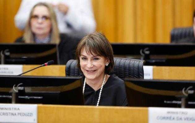 Ministra Cristina Peduzzi será a nova presidente do TST (Tribunal Superior do