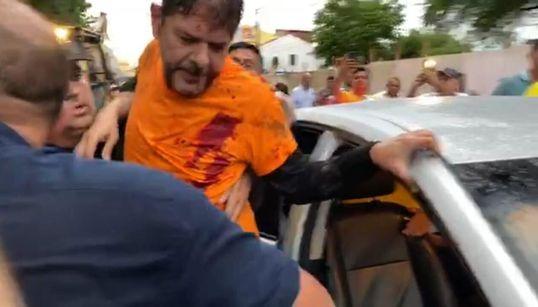 Cid Gomes é baleado em protesto para impedir greve de policiais no