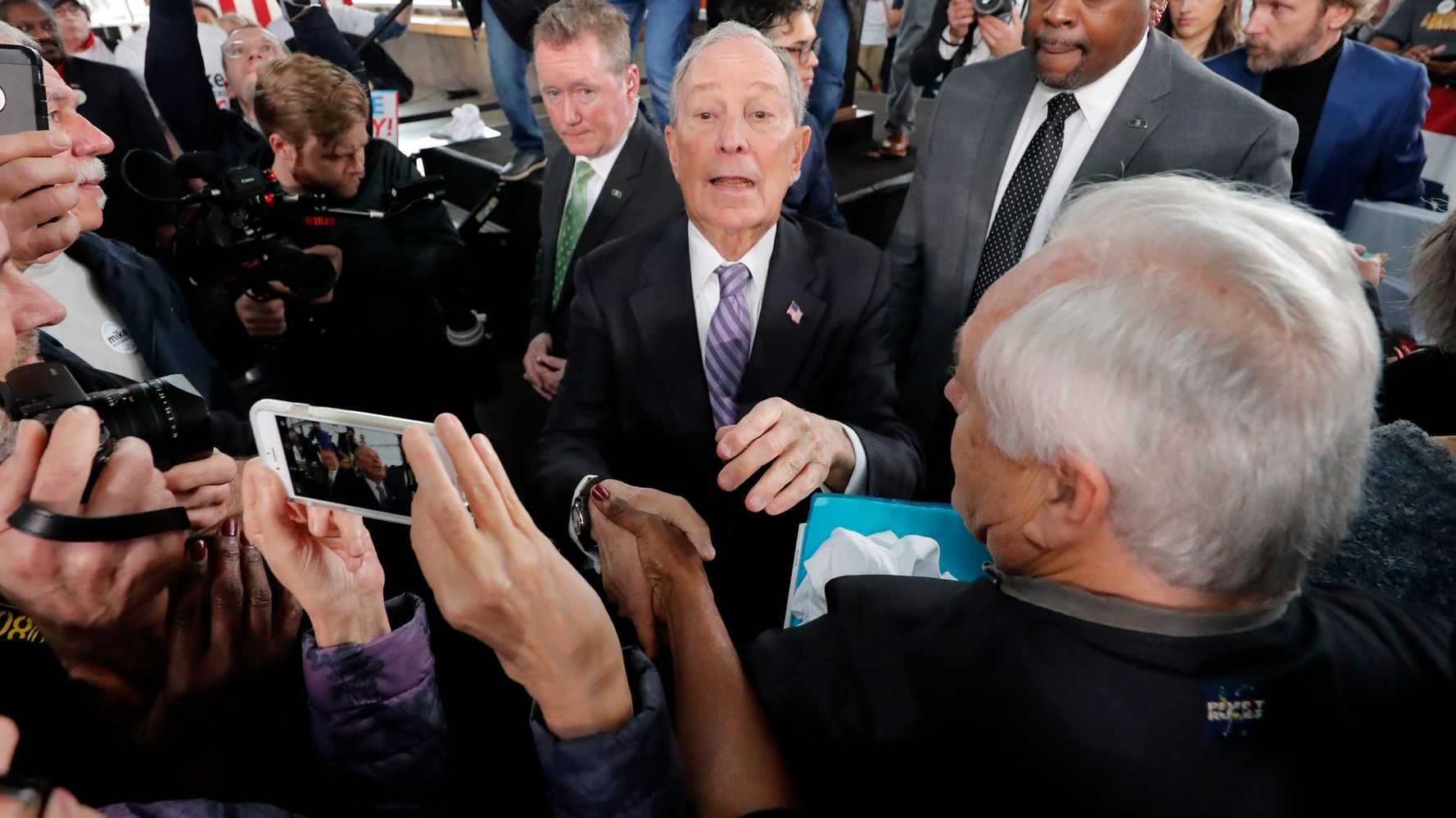 Westlake Legal Group 5e4dc39f2300003103ddcad1 Democrats Swap Pre-Debate Barbs As Mike Bloomberg Faces First Test
