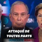 Bloomberg a été enterré sous les attaques pour son 1er débat
