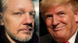 Trump le ofreció el indulto a Assange si negaba la trama