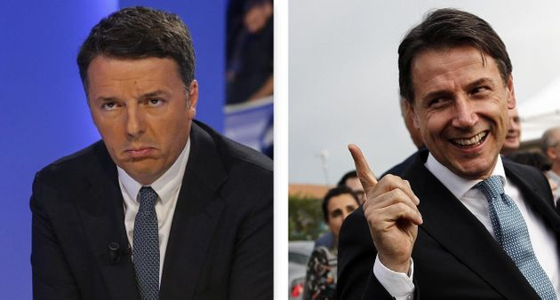Nello scontro tra Renzi e Conte gli italiani stanno con il p