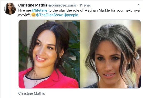 Christine Mathis y Meghan