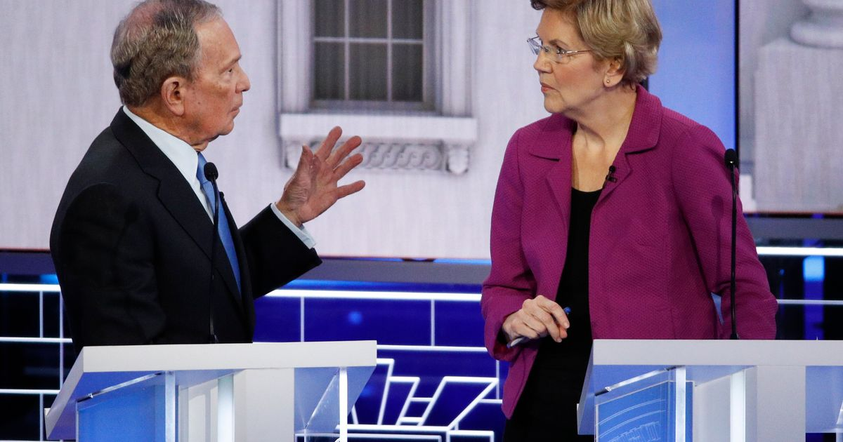 Elizabeth Warren Slams Mike Bloomberg For Alleged 'Horse-Faced Lesbians' Attack On Royal Family