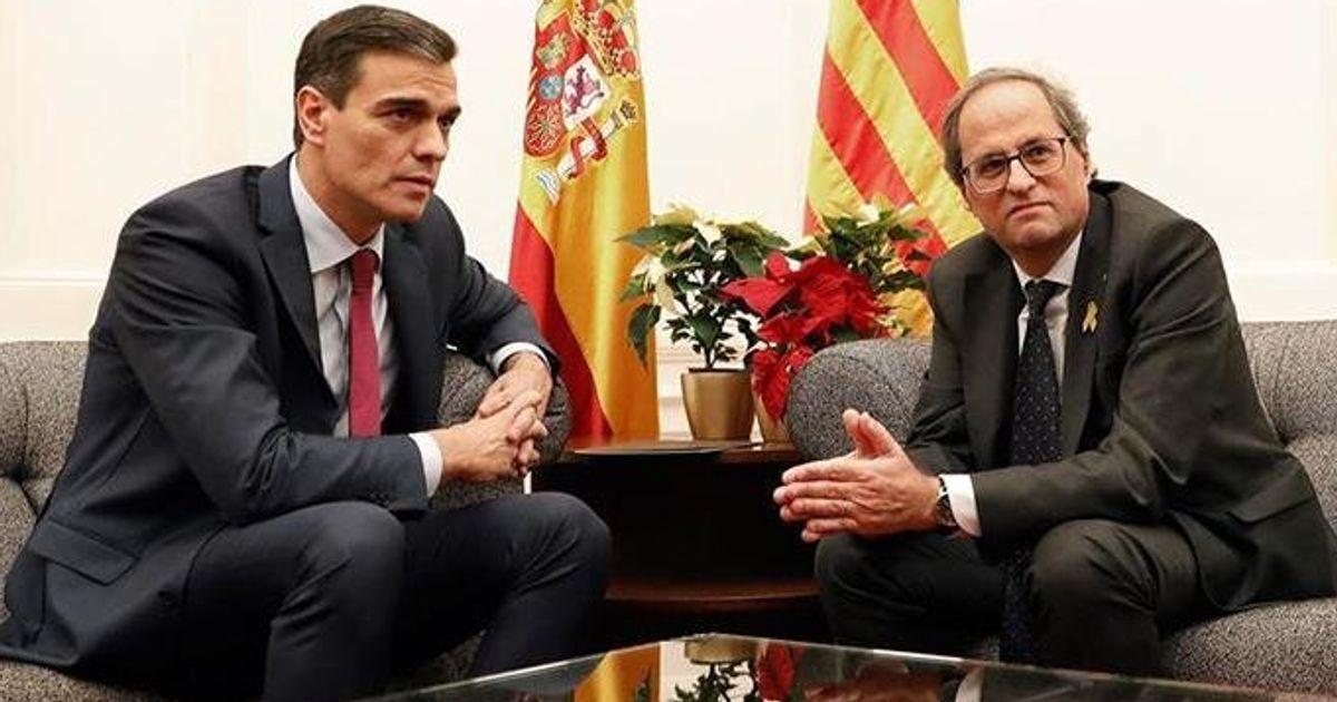 Sánchez acepta celebrar la primera reunión de la Mesa de Diálogo el próximo miércoles