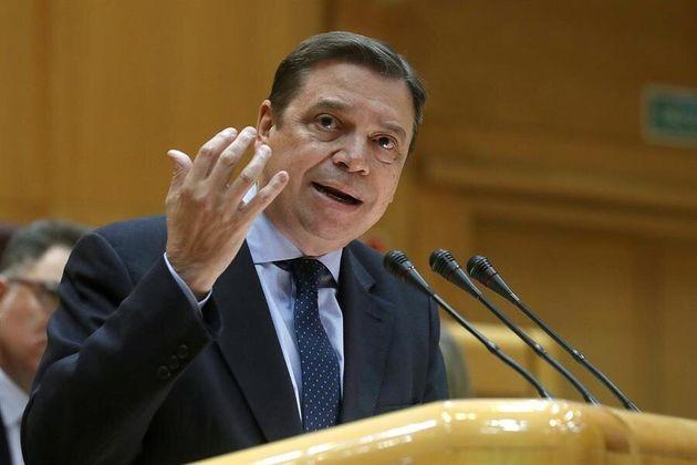 El ministro de Agricultura, Luis