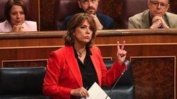La exministra Dolores Delgado, a examen en el Congreso para ser fiscal