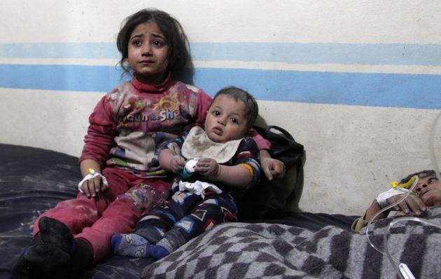 Τραυματισμένα παιδιά...
