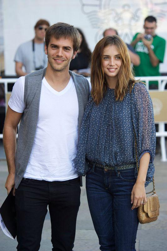 Junto a su exmarido, Marc Clotet, en la 59ª edición del Festival de San Sebastian en septiembre de 2011.