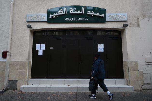 La mosquée As Sounna, vue le 1er décembre 2017 à Marseille: la préfecture...