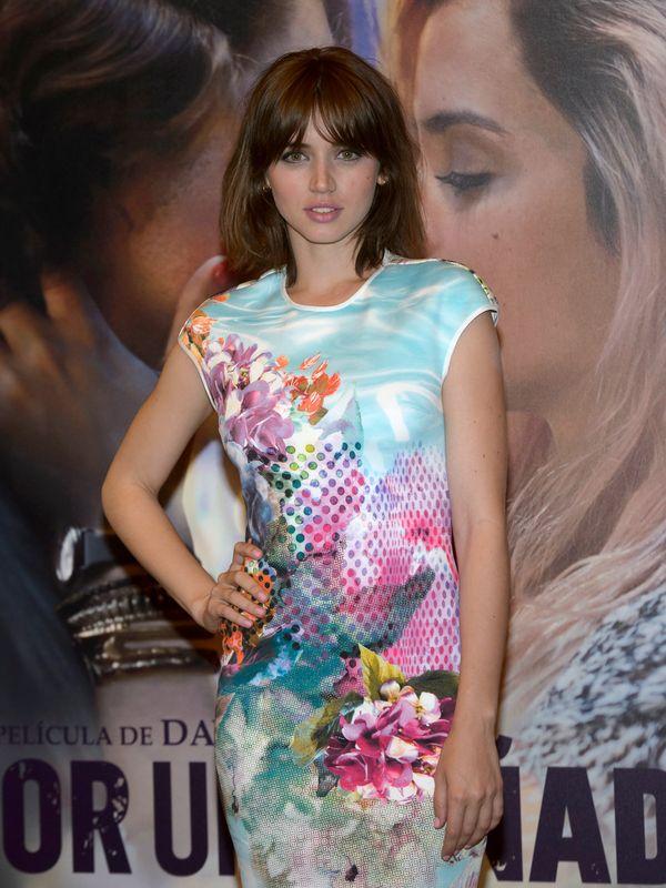 En la presentación de la película 'Por un puñado de besos' en mayo de 2014.