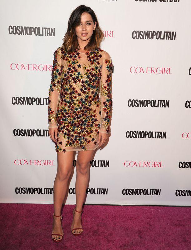 En el 50º aniversario de la revista 'Cosmopolitan' en octubre de 2015.