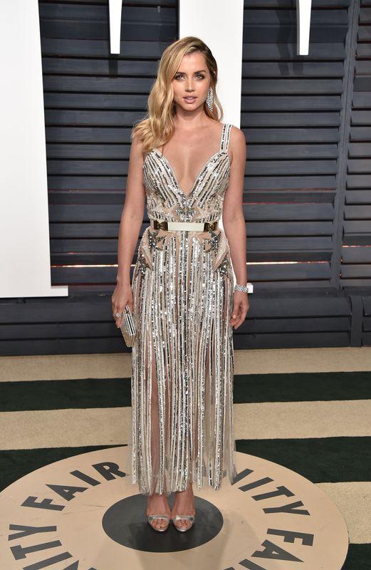 En la fiesta de los Oscar organizada por la revista 'Vanity Fair' en febrero de 2017.