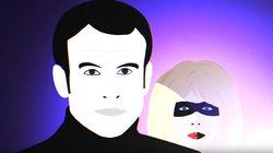 Brigitte Macron transformée en super-héroïne dans un clip pour dénoncer le
