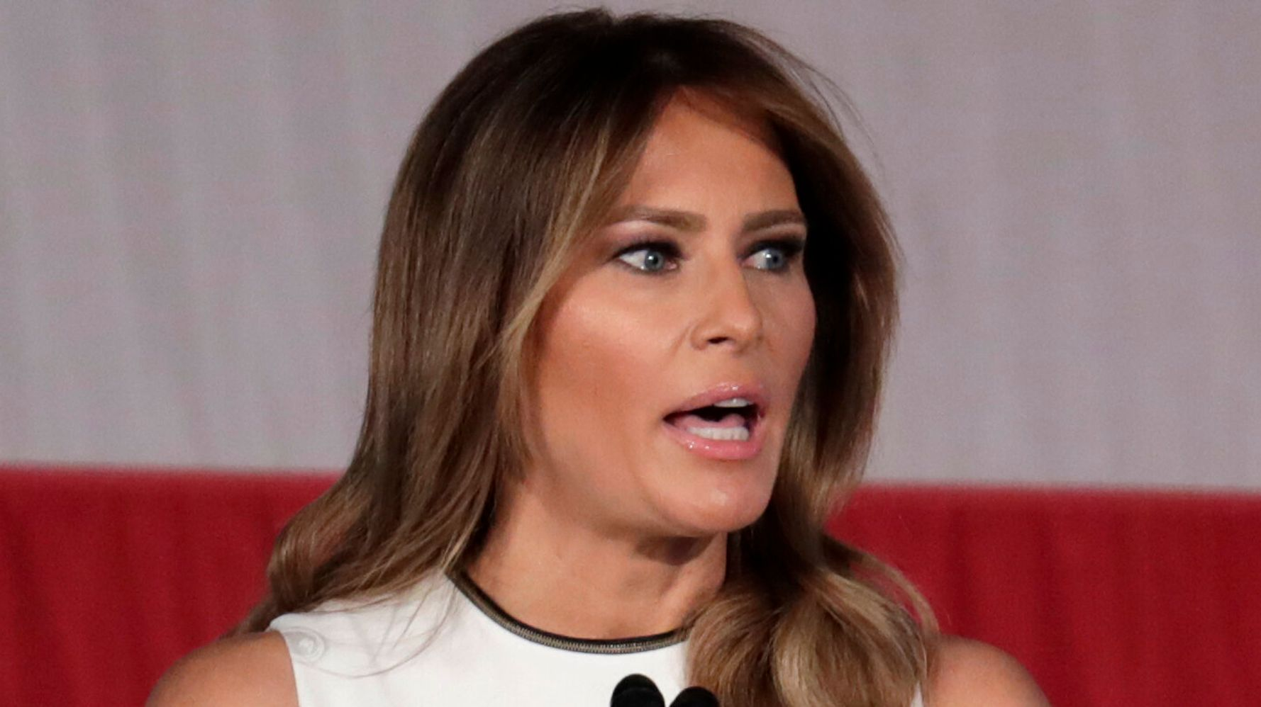 Melania Trump Hails 'Healthy Online Behavior' And People Can't Handle The Irony
