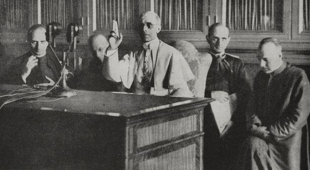 Apertura archivi Pio XII.