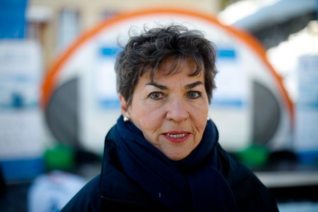 Christiana Figueres at the World Economic Forum in Davos, Switzerland, Jan. 20,