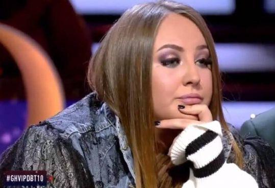 Rocío Flores en el debate de 'GH VIP'.