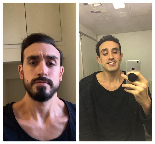 Ελληνολιβανέζος προκάλεσε πανικό σε πτήση - Ξυρίστηκε στον αέρα και τον πέρασαν για