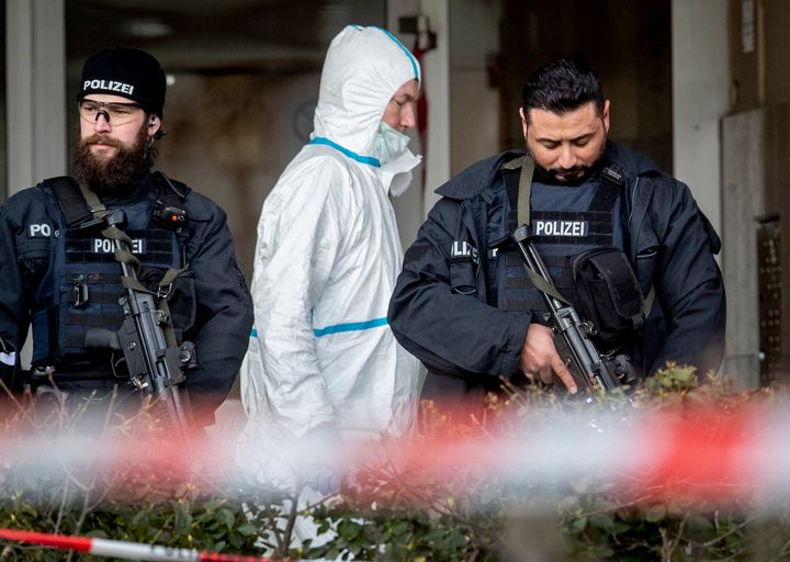 A 43-year-old German man shot and killed several people at more than one location in a Frankfurt suburb overnight in attacks