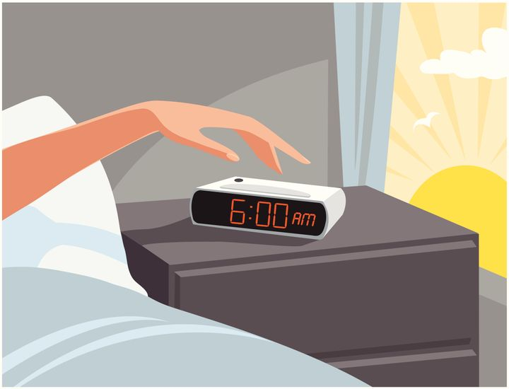 Commencer la journée en passant un peu de temps à l'extérieur aide à réaligner les rythmes circadiens.