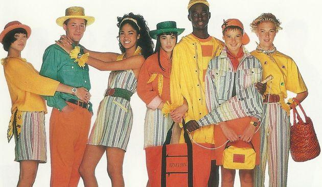 Derrière cette publicité Benetton de 1984, un nom: Oliveiro