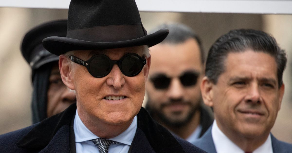 Long-Time Trump Ally Roger Stone Sentenced To 40 Months In Jail