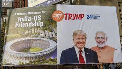 En Inde, un mur pour cacher les bidonvilles à Trump fait