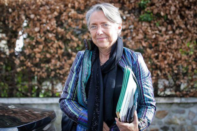 Elisabeth Borne, ministre de la Transition écologique, le 14 février 2020, lors d'un déplacement en