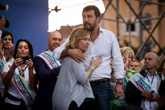 Giorgia Meloni e Matteo