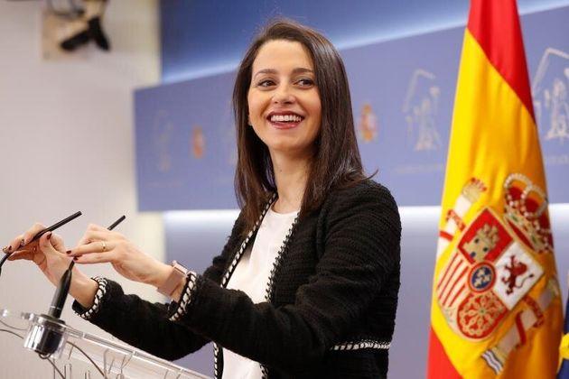 La portavoz de Ciudadanos en el Congreso, Inés Arrimadas. EFE/