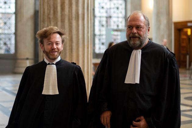 Antoine Vey et Éric Dupond-Moretti, les deux avocats français qui ont rejoint récemment...
