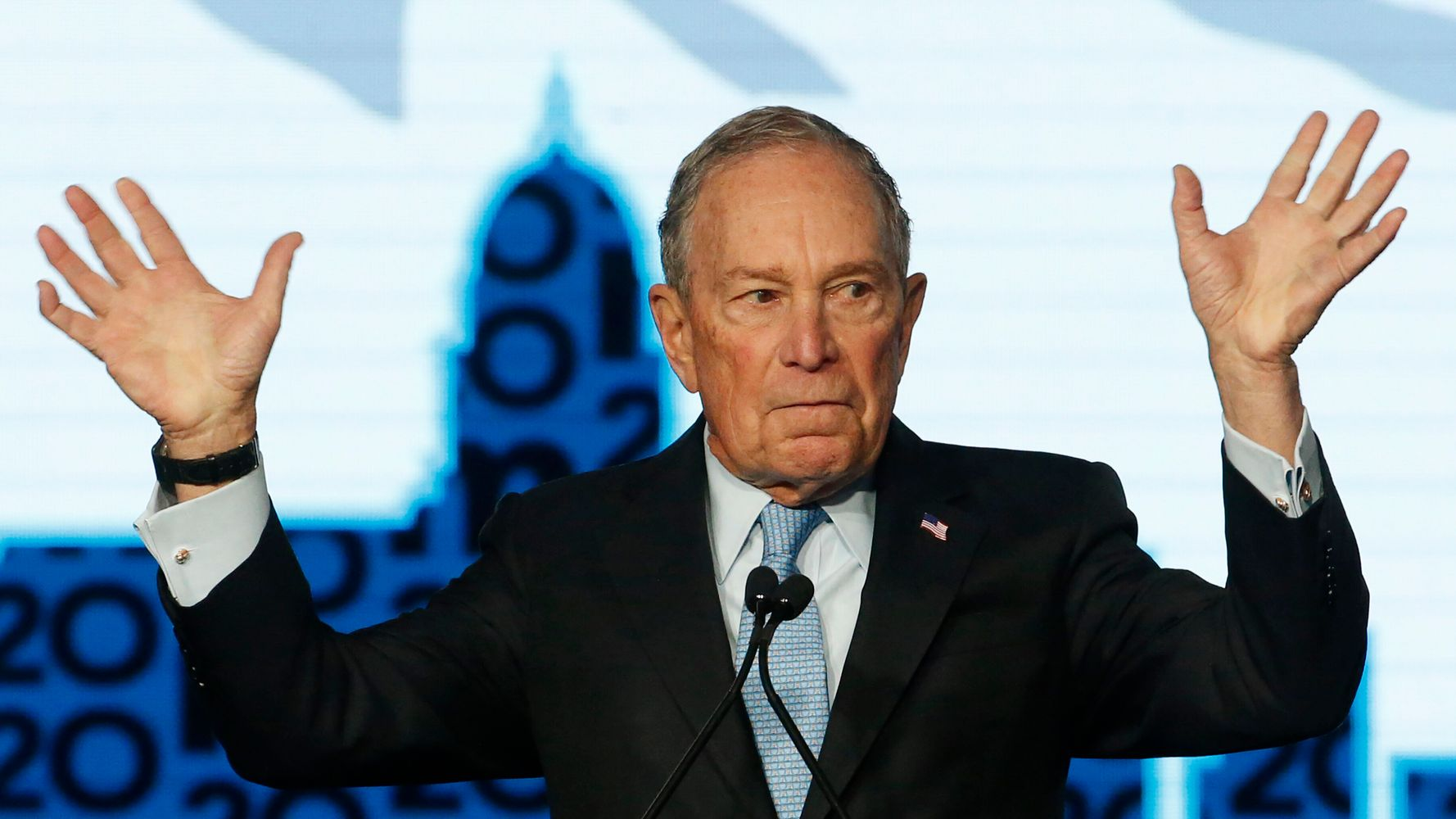 Mike Bloomberg Spent $220 Million In January. That Is An Unimaginable Sum.