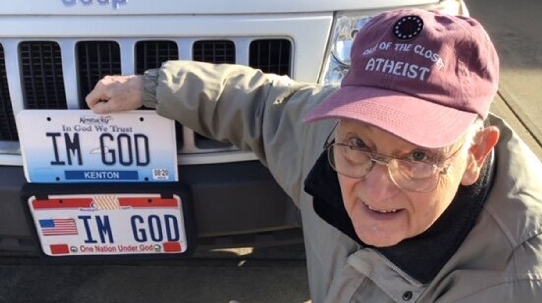 Kentucky Atheist Awarded $150,000 In Fight Over Vanity License Plates