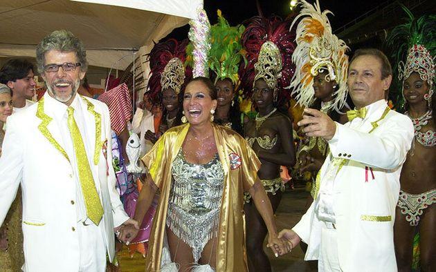 José Mayer, Susana Vieira e José Wilker em
