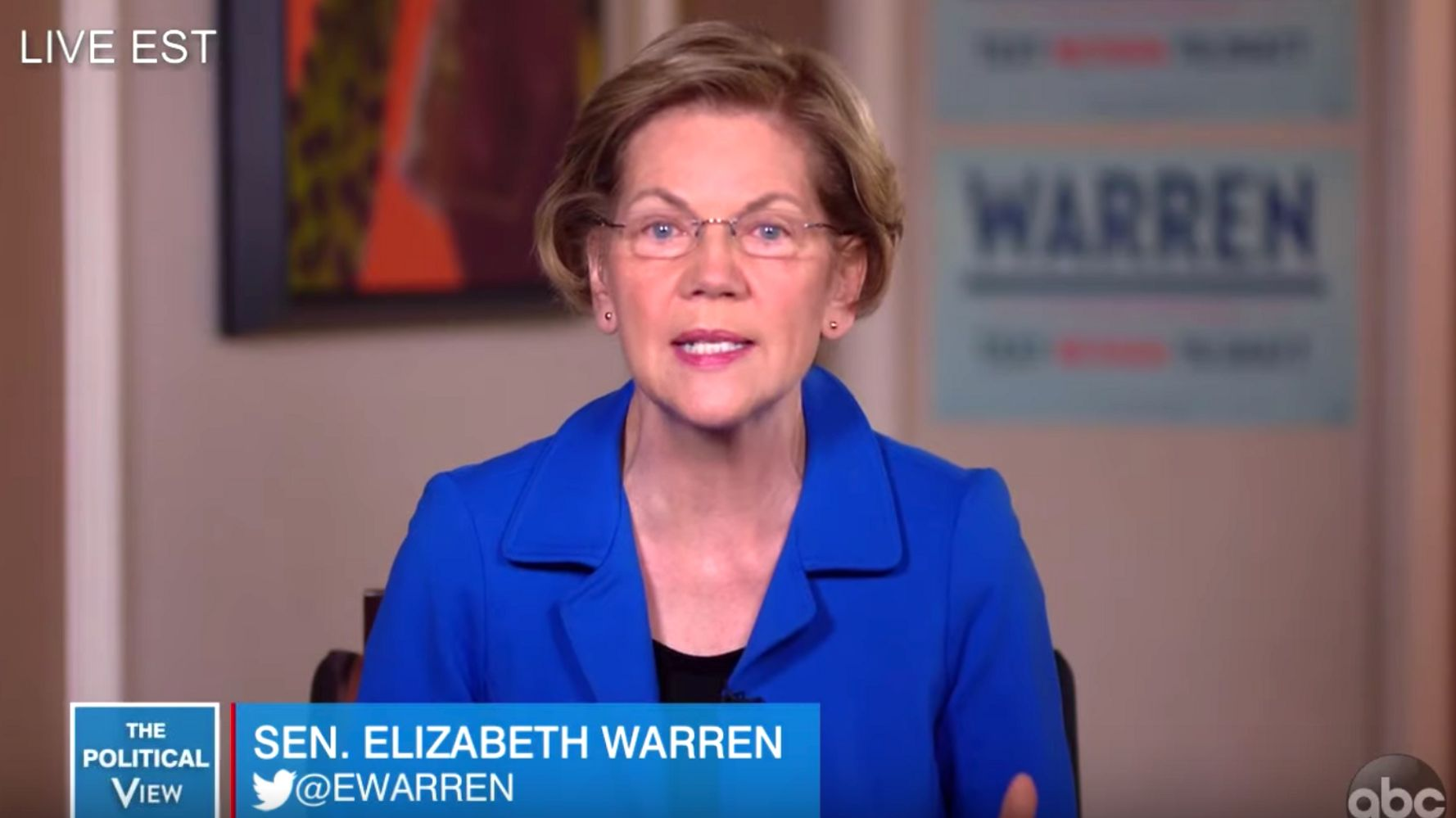 Elizabeth Warren Lobs Another Hit Against Bloomberg's Stop-And-Frisk Apology