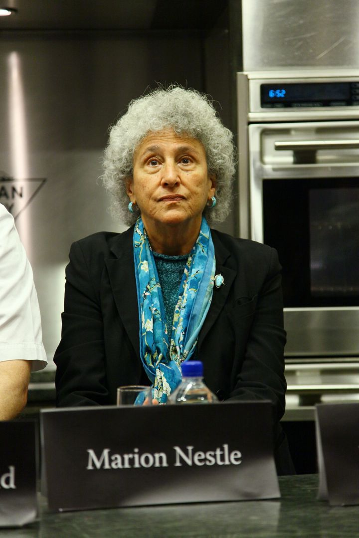 NEW YORK, NY - NOVEMBER 15: NYU professor of Nutrition, Food Studies, and Public Health Marion Nestle attends a panel at The