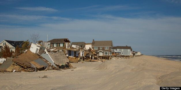 Hurricane Sandy destruction, New Jersey