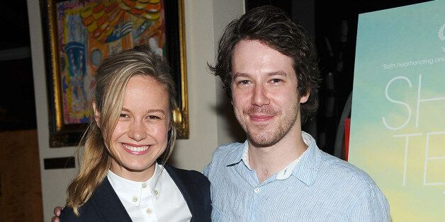 NEW YORK, NY - JULY 16:  Actors Brie Larson (L) and John Gallagher Jr. attend the 'Short Term 12' New York Special Screening