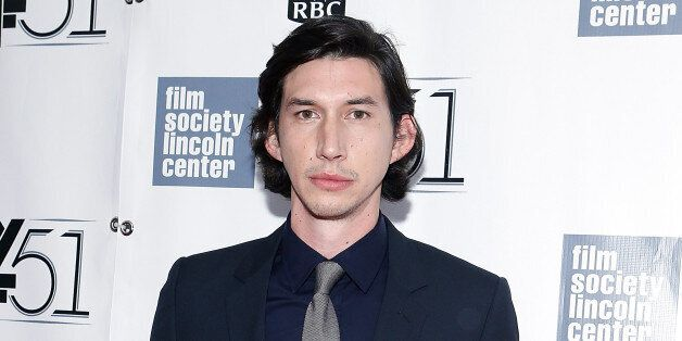 NEW YORK, NY - SEPTEMBER 28:  Adam Driver attends the 'Inside Lleywn Davis' permiere during the 51st New York Film Festival a