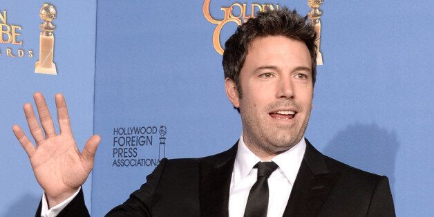 BEVERLY HILLS, CA - JANUARY 12:  Actor-director Ben Affleck poses in the press room during the 71st Annual Golden Globe Award