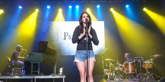COLUMBIA, MD - May 10th, 2014 - Lana Del Rey performs at the 2014 Sweetlife Festival at Merriweather Post Pavilion in Columbi
