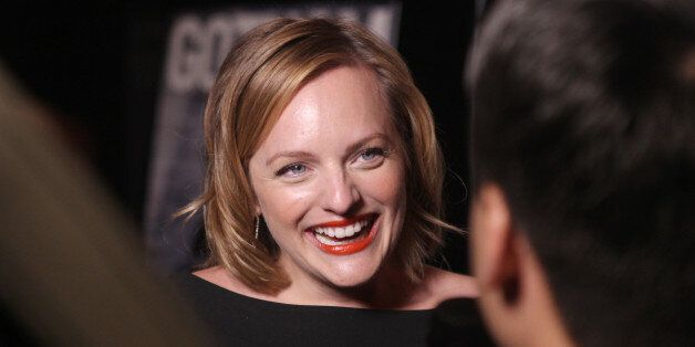 Actress Elisabeth Moss attends Gotham Magazine Fall Fashion Issue celebration at Tender Restaurant at the Sanctuary Hotel on