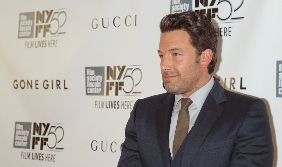 "Ben Affleck playing Nick Dunne -- the charming, handsome, smug, media-persecuted bro at the center of ""Gone Girl"" -- was one"