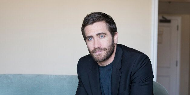 Actor Jake Gyllenhaal poses for a portrait at the Four Seasons hotel on Monday, Oct. 13, 2014 in Los Angeles. (Photo by Dan S