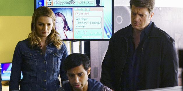 CASTLE - 'Meme is Murder' - When a web celebrity is murdered, Castle and Beckett explore the flashy world of internet fame. B