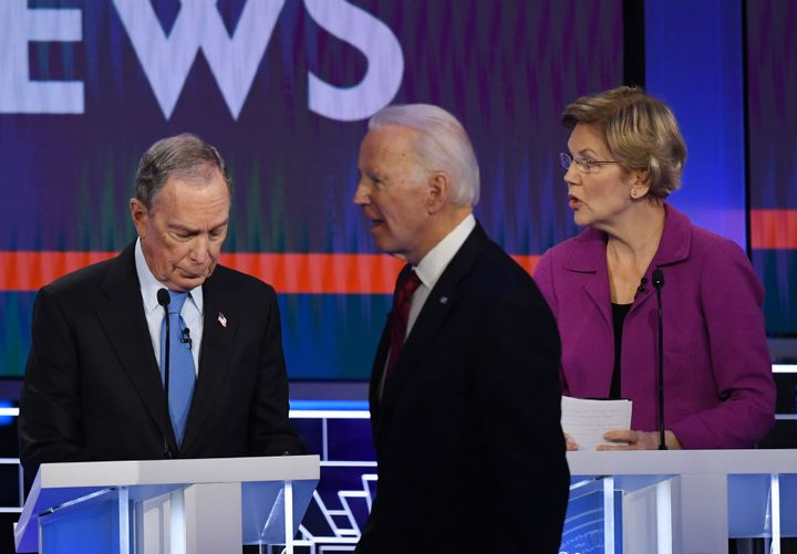 Bloomberg's record and past statements provided fertile ground for attacks by other Democratic presidential contenders at Wed