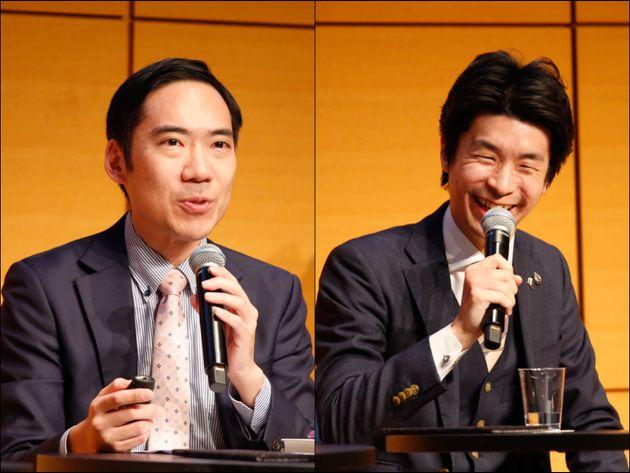 金澤雄大さん(左)、春野直之さん(右)