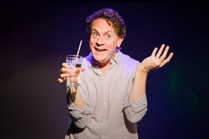 "Drew Droege stars in ""Happy Birthday Doug,"" now playing at New York's SoHo Playhouse through March 29."