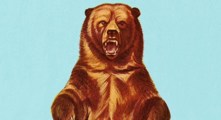 Here's what therapists say you should do in the moment when you're ticked off like this bear.
